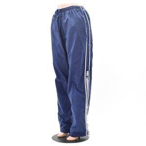 Adidas Lined Windbreaker Track Pants Size XL Blue